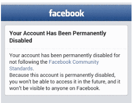 How to Activate Facebook Account after Disabled<br/>