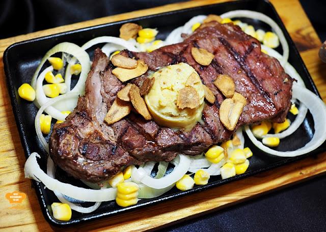 NYSS Signature Sizzling NY Striploin Beef Platter NY Steak Shack Festive Season New Menu