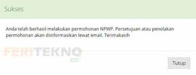 cara membuat npwp online 13