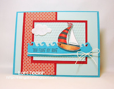 You Float My Boat-designed by Lori Tecler-Inking Aloud-stamps from Avery Elle