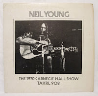 Neil Young Carnegie Hall 1970