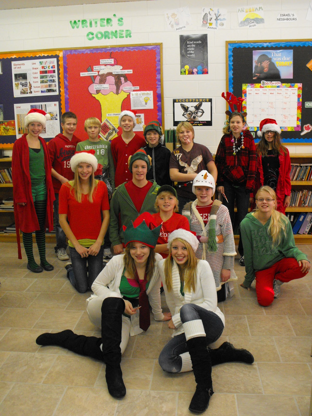 Our Studentsu0027 Council had their first Spirit Day yesterday Crazy Christmas Costume Day. The students and teachers all did a great job of designing some ...  sc 1 st  Community Christian School Drayton & Community Christian School Drayton: Crazy Christmas Costume Day