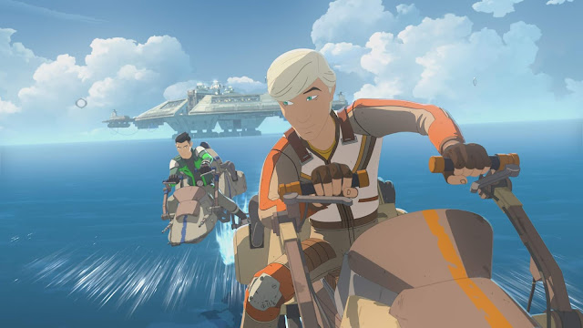 Elijah Wood Star Wars Resistance