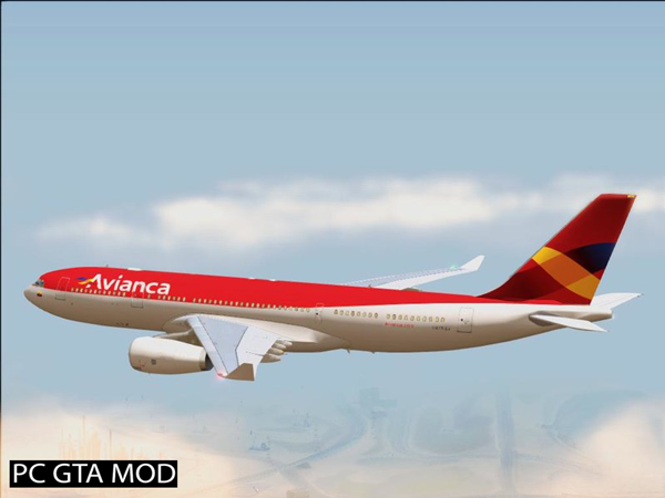Free Download Airbus A330-200 RR Trent 700  Fixes Mod for GTA San Andreas.