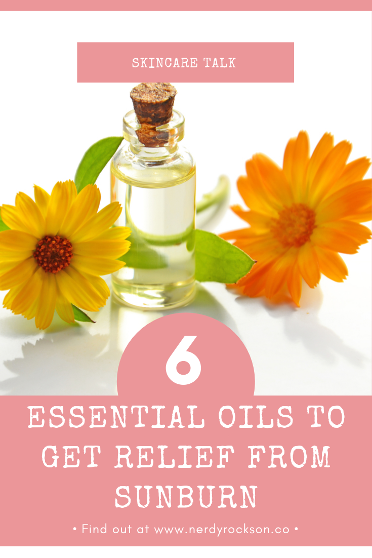 Essential Oils To Get Relief From Sunburn