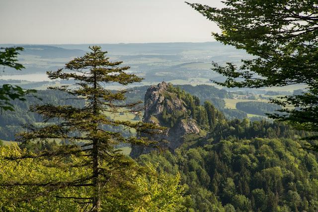 Gaisberg und Nockstein von Koppl  Wanderung FuschlseeRegion  Wandern Salzkammergut 09