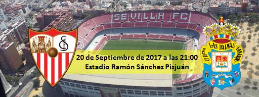Previa Sevilla FC - UD Las Palmas 20 Septiembre 21:00