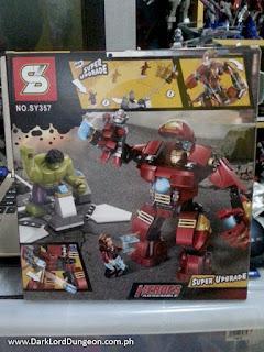 Heroes Assemble Iron Man Hulkbuster LEGO KO