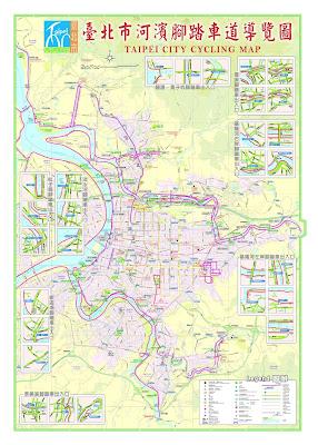 Taipei City Bike Map