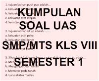 SOAL LATIHAN PAS PPKn SMP KELAS 8 SEMESTER 1 (GANJIL