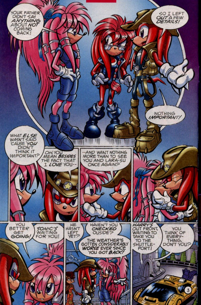 Read online Sonic The Hedgehog comic -  Issue #144 - 5