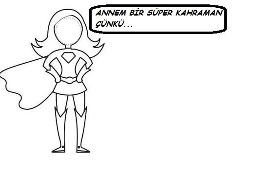 Top 100 Super Kahraman Anne Boyama Sayfalari