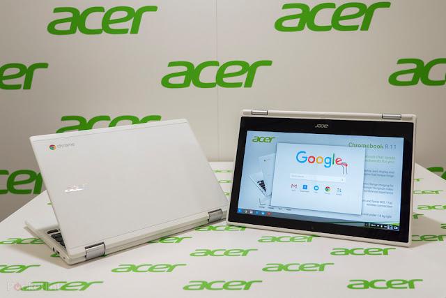 Acer Chromebook R11 best chromebook laptops