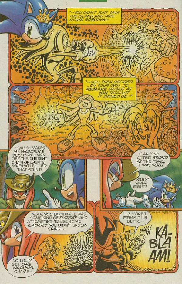 Read online Sonic The Hedgehog comic -  Issue #140 - 22
