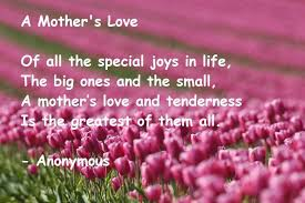short poem on mother in english