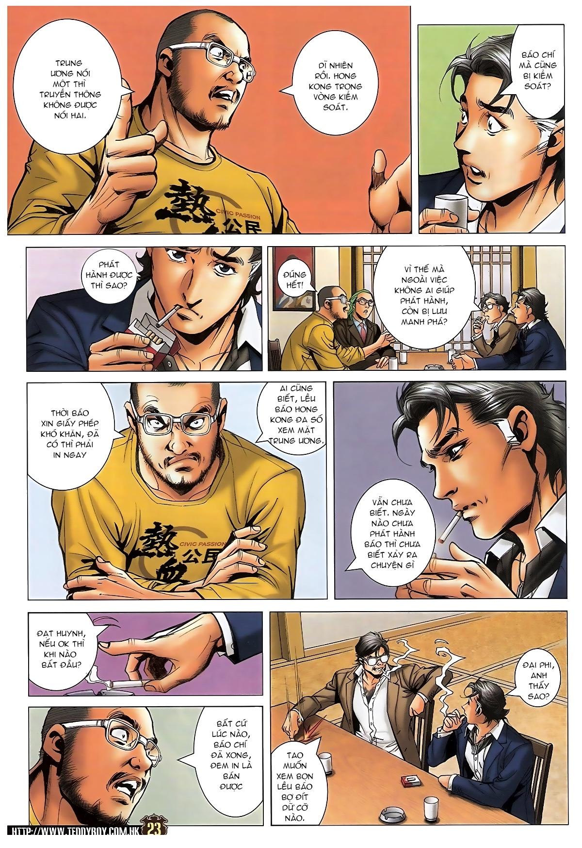 Người Trong Giang Hồ - Chapter 1573: Chuyện bên bếp lẩu - Pic 19