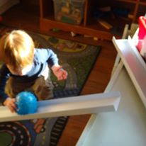 toddlers incline plane and science