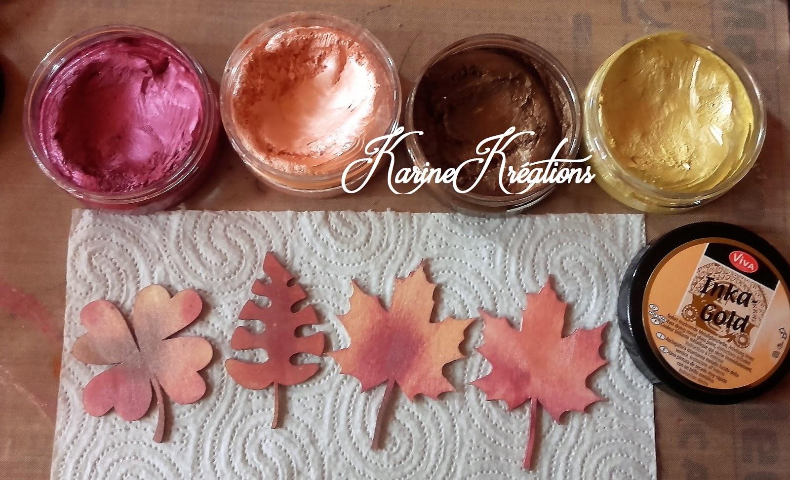 Trucs et astuces d coration feuilles en bois inka gold - Decoration en chocolat trucs et astuces ...