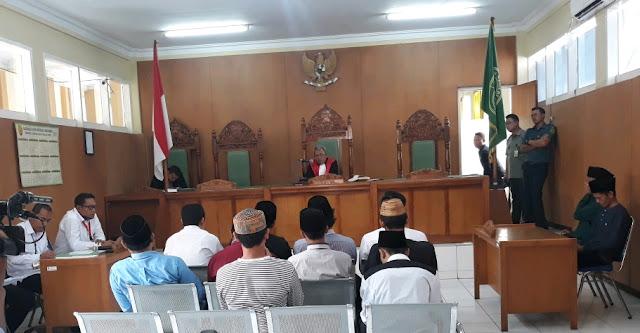 Sidang Perdana Kasus Pembakaran Bendera Tauhid Digelar, Polisi Jaga Ketat