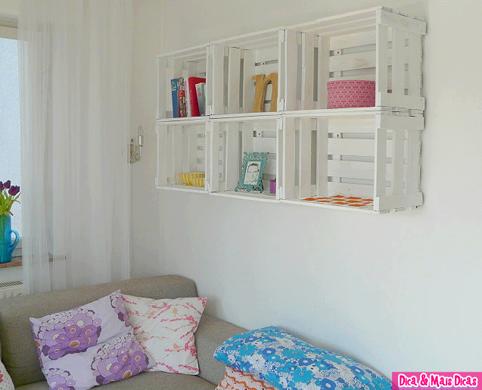 Icono Interiorismo Ideas Para Decorar Con Cajas De Fruta - Decorar-con-cajas-de-fruta