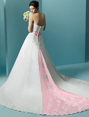 Pink Wedding Dress Designs For S