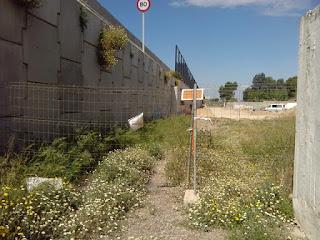 Anillo Verde de Zaragoza km 20.5