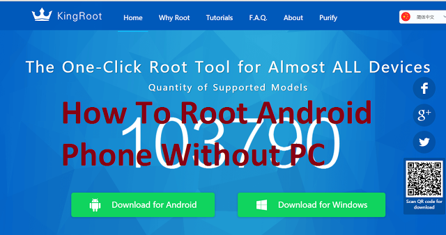 ANDROID PHONE SE ONE CLICK ROOT KAISE KARE - HOW TO ROOT