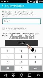 cara menampilkan layar hp android ke komputer