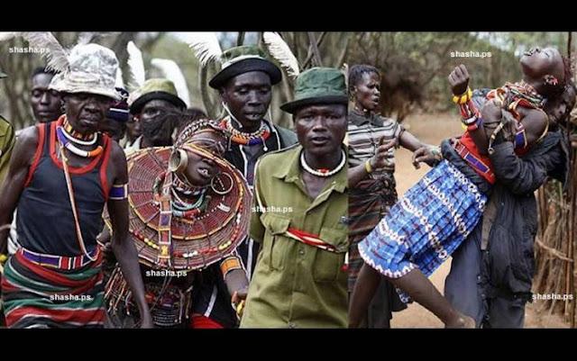 تزويج الفتيات قسراً بطقوس غريبة في كينيا! شاهد كيف يزوجون الفتيات في عمر ال 14 بعد ختانهن!