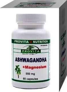 Ginseng Indian pareri Ashwagandha cu Magneziu Provita Nutrition