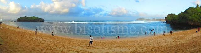 Pantai Sadranan Pantai Selatan Kabupaten Gunung Kidul