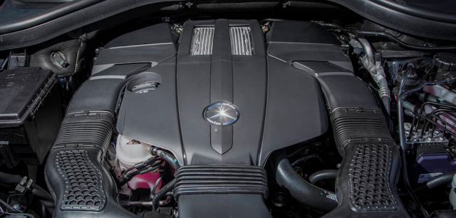 2017 Mercedes-Benz GLS450 4MATIC Engine
