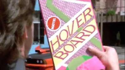 Il Mattel Hover Board come mostrato nel film
