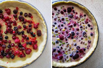 Tarta de frutos rojos y pistachos (Siempredulces) - Elaboración Paso 7