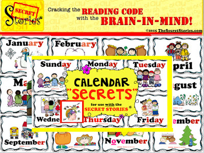 Secret Stories® Phonics Calendar Secrets