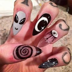 Enchanting Babble Intuition Game With Alien Nail Art Designs Join
