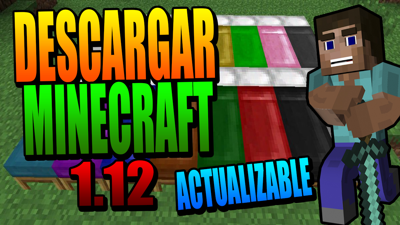 Descargar Minecraft 1.12 | NO PREMIUM | ACTUALIZABLE