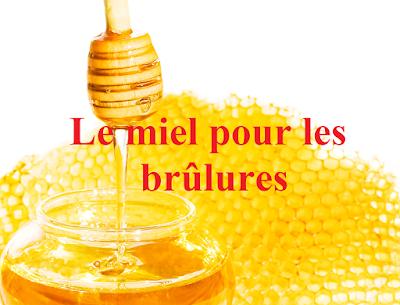 utilisation-miel-brulures