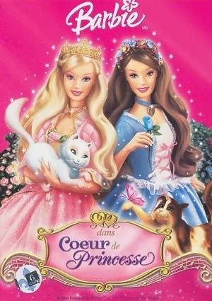 regarder barbie cur de princesse