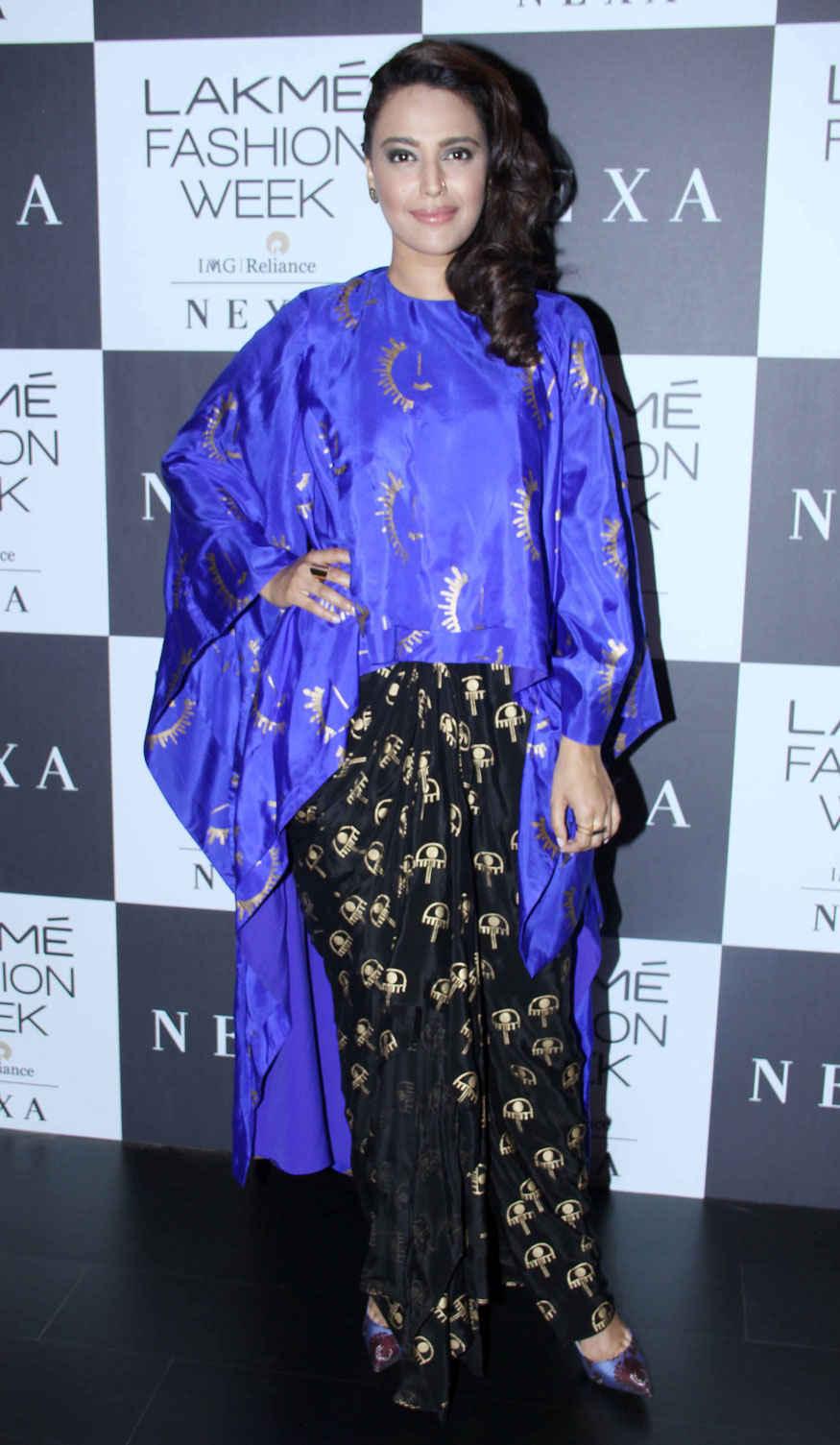 Bollywood Celebrities at Lakme Fashion Week 2017 Event Stills
