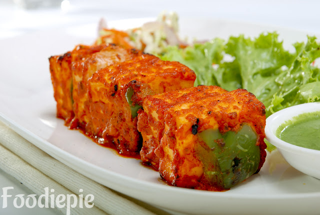 Spicy Paneer Tikka Recipe at Home
