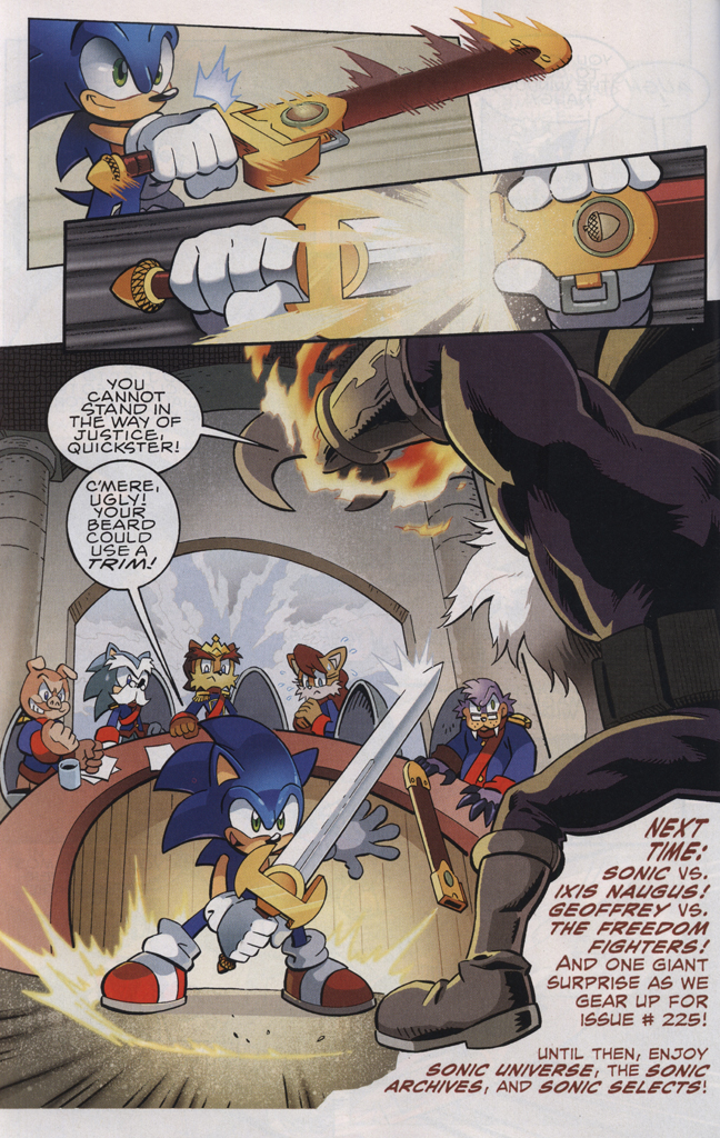Read online Sonic The Hedgehog comic -  Issue #223 - 24