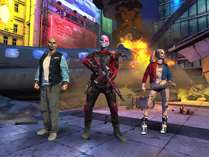 Suicide Squad: Special Ops Free App Game By