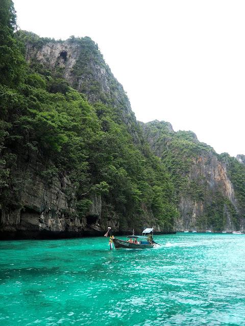 Phi Phi Leh lagoon near Krabi, Thailand