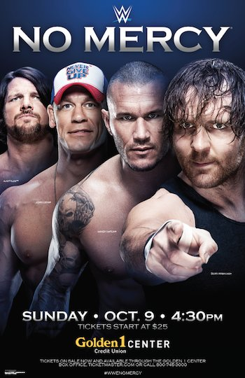 WWE No Mercy 2016 PPV