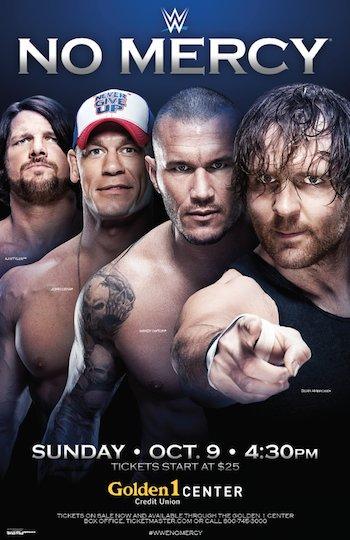 WWE No Mercy 2016 PPV