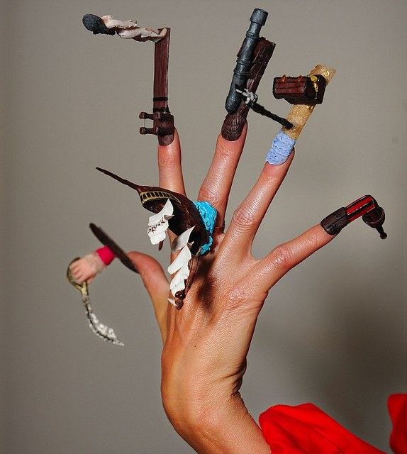 Creative Nail Art: Beauty Best Nail Art: Amazing And Creative Nail Art