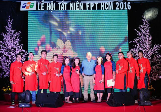 Cán Bộ CNV FPT Hồ Chí Minh Nô Nức Tham Gia Hội Làng 13