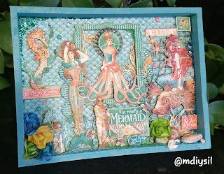 diorama collade de scrap coleccion voyage beneath the sea graphic 45