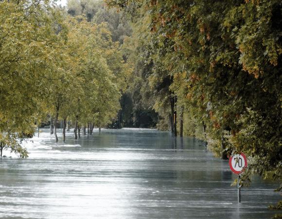 Inundação-enchente-rio